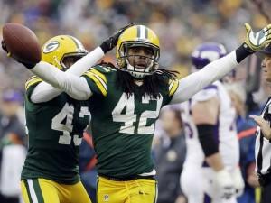 NFL, Green Bay Packers, Morgan Burnett, M.D. Jennings, Charles Woodson, haha clinton-dix, Packers safeties, Packers defense