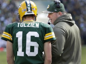 Scott Tolzien is 0-1-1 as an NFL starter. In those games he has thrown three interceptions and zero touchdowns.