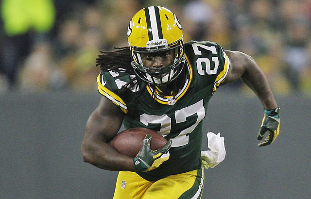 Eddie Lacy Dual threat for the Packers