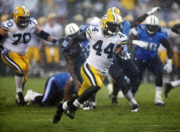 James Starks TD run - Packers vs. Titans