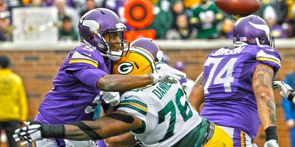 Green Bay Packers Mike Daniels vs. Minnesota Vikings