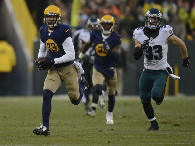 Micah Hyde TD Packers Eagles