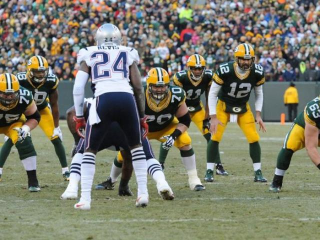 Packers vs. Patriots - offense