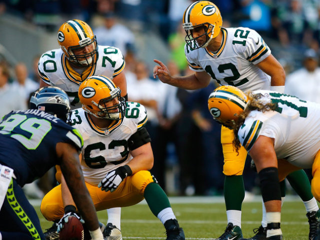 Green Bay Packers Offensive line - Corey Linsley