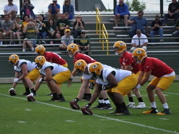 Packers OTA's