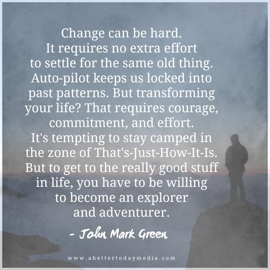 John Mark Green Why It's Tempting To Settle For An Unhappy Life