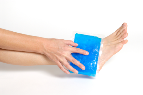 cold compresses foot cramps