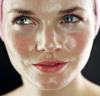 oily skin on face