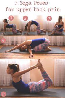yoga upper back pain