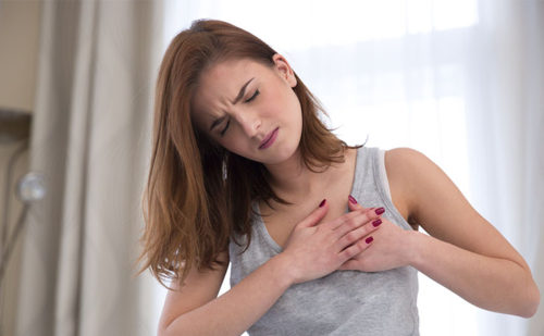 get rid of chest pain