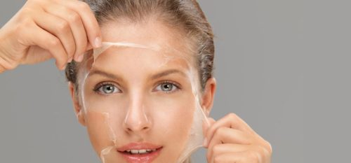 peeling skin on face