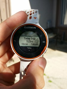 "Obligatory Instagram ""Look what I ran!"" GPS watch shot"
