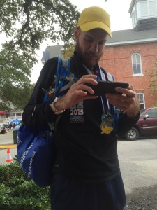 post race cell phone -- achieving millennial