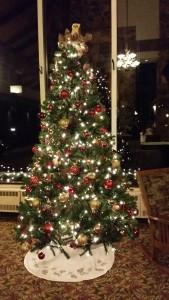 Salt Fork Lodge Christmas Tree -- Achieving Millennial