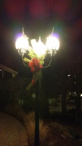 Christmas Light Post -- Achieving Millennial