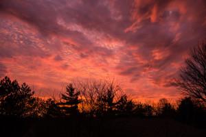 columbus morning sky -- achieving millennial
