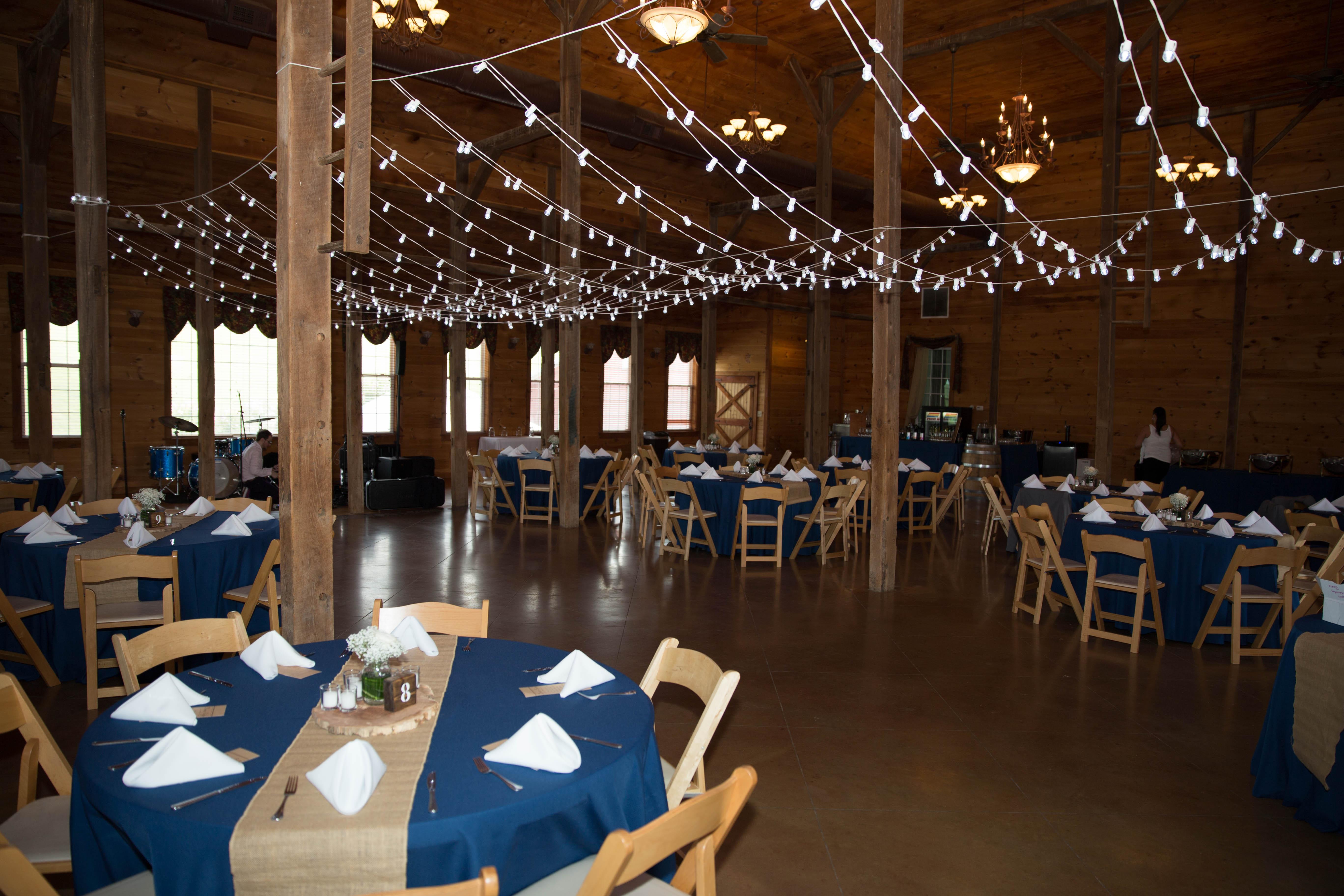 Wedding Reception tables