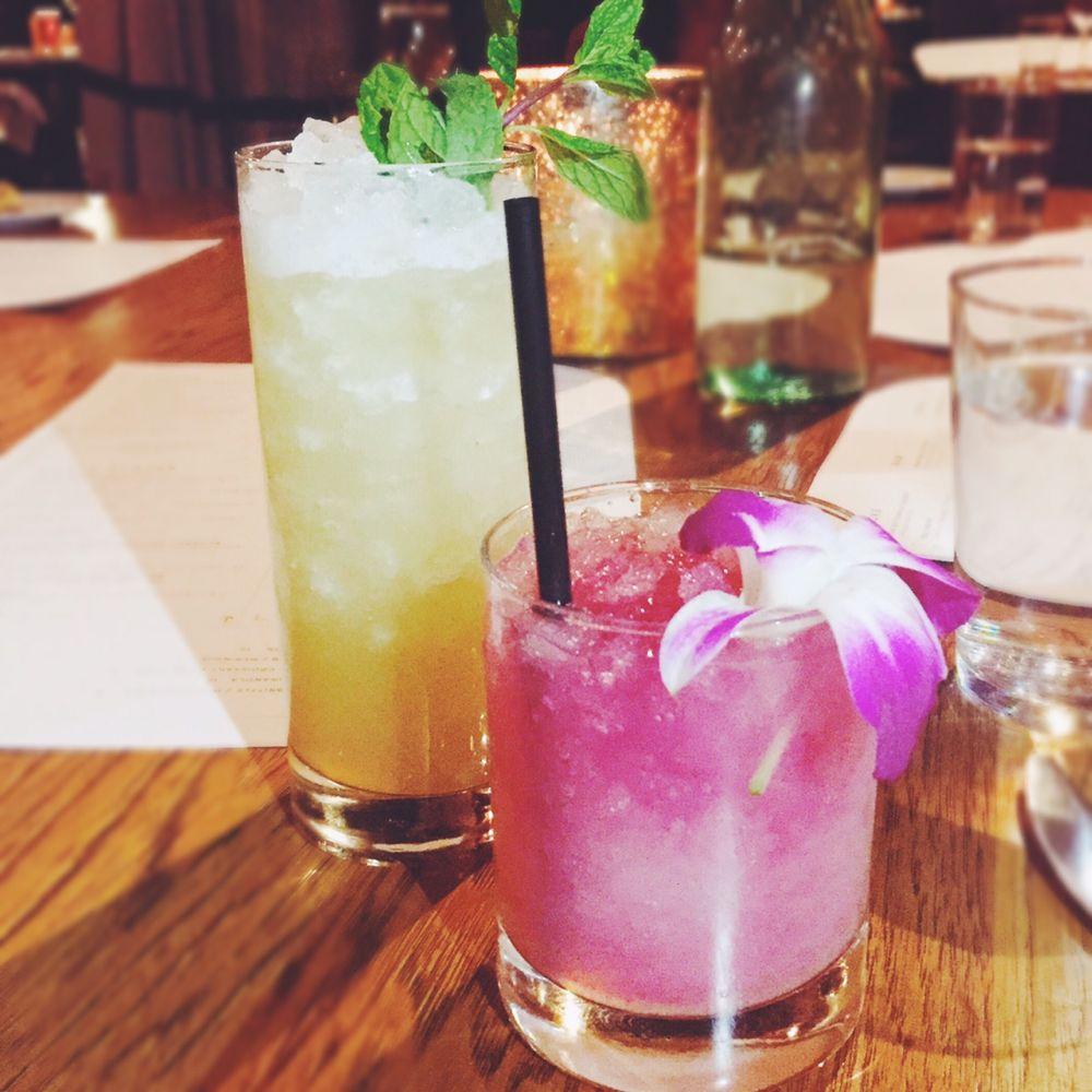Cocktails at Juniper + Ivy