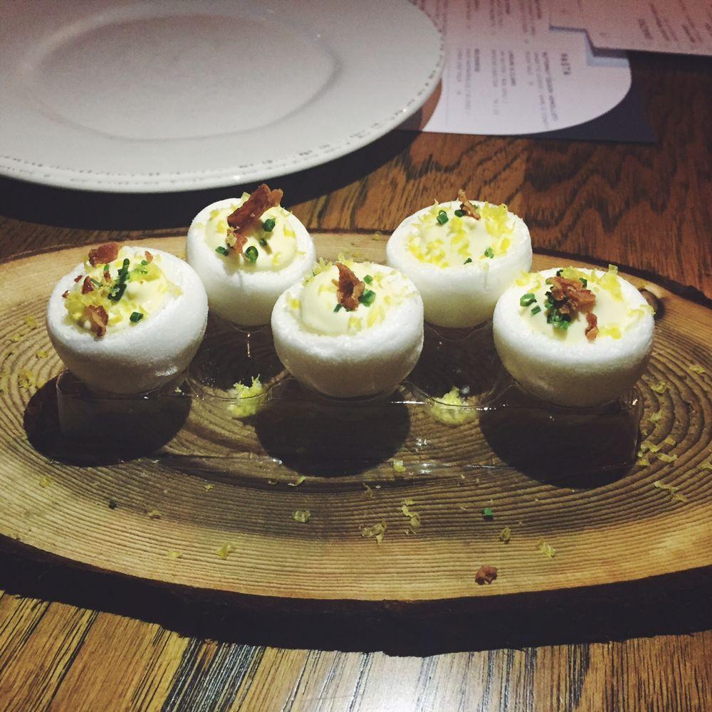 Juniper + Ivy deviled eggs