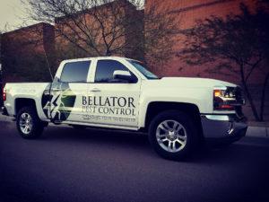 Bellator Pest Control Truck
