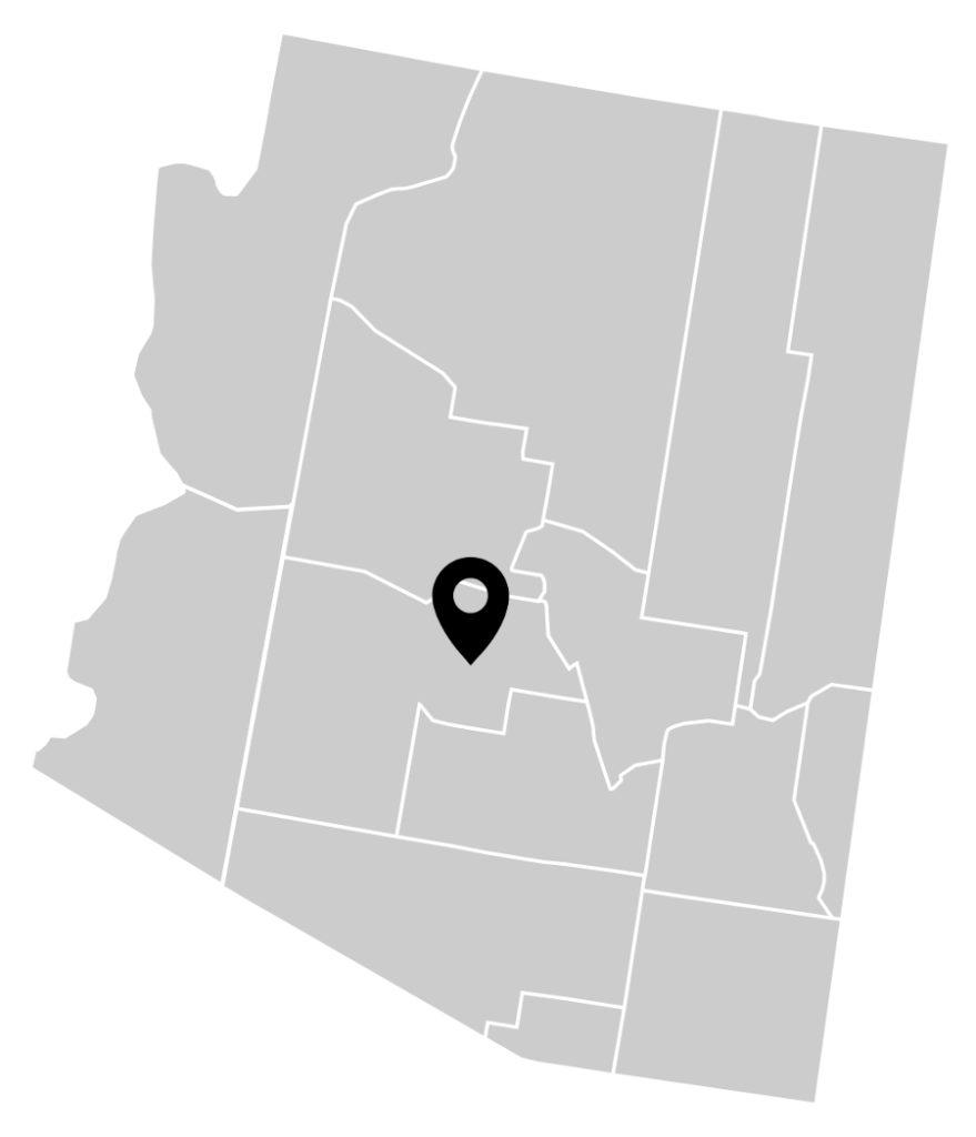 Scottsdale Pest Control & Exterminator, Arizona service area map