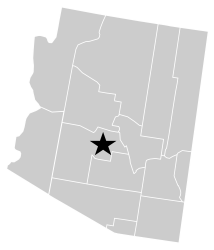 Arizona exterminator and pest control service area map