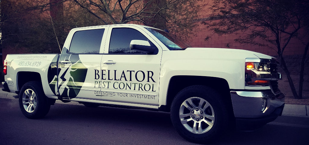 Bellator Pest Control Experts Truck