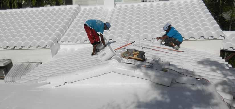 residential roof waterproofing tile