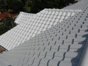 bright white tile roof miami florida