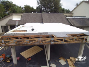 structural flat roof repair