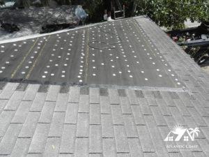 shingle roof repair process