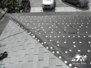 shingle roof repair photos