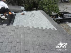shingle roof repair pics