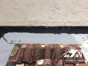 tile roof leak repair
