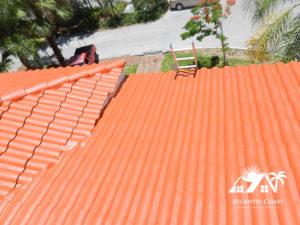 waterproof tile roof