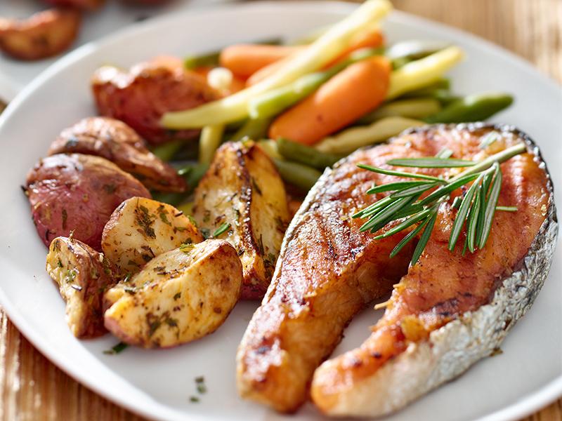 Orange Dijon-Glazed Salmon New Recipe!