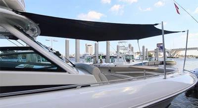 Boat Sunshade Forward