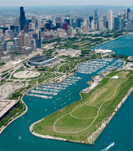 Burnham Harbor, Chicago and South Lake Michigan Harbors