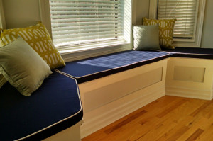 Other Services Offered by Chicago Marine Canvas: Bay Window Cushions and Pillows