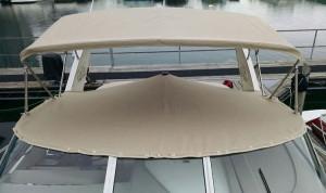 Cockpit Cover in Sunbrella Tresco Linen