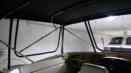 Interior View Forward Port