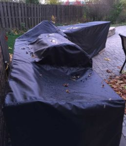 Grill Slip Cover by Chicago Marine Canvas