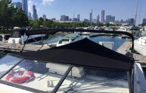 1989 Open Mediterranean Mainship By Chicago Marine Canvas