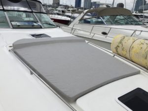 Sundancer 300 Custom Sunpad By Chicago Marine Canvas