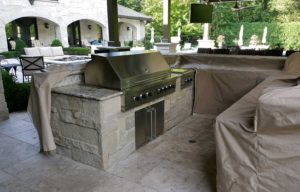 Outdoor Kitchen Cover