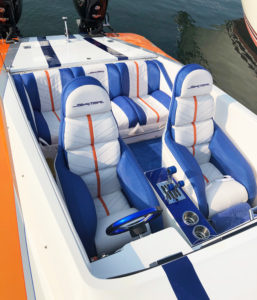 Marine Exterior Upholstery