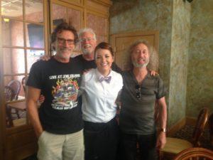 Barron, Rick, Lou, Randy Simpson-Billy's Roanoke