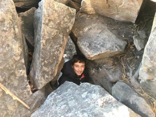 Rock exploring