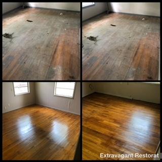 hardwood floors cleaned