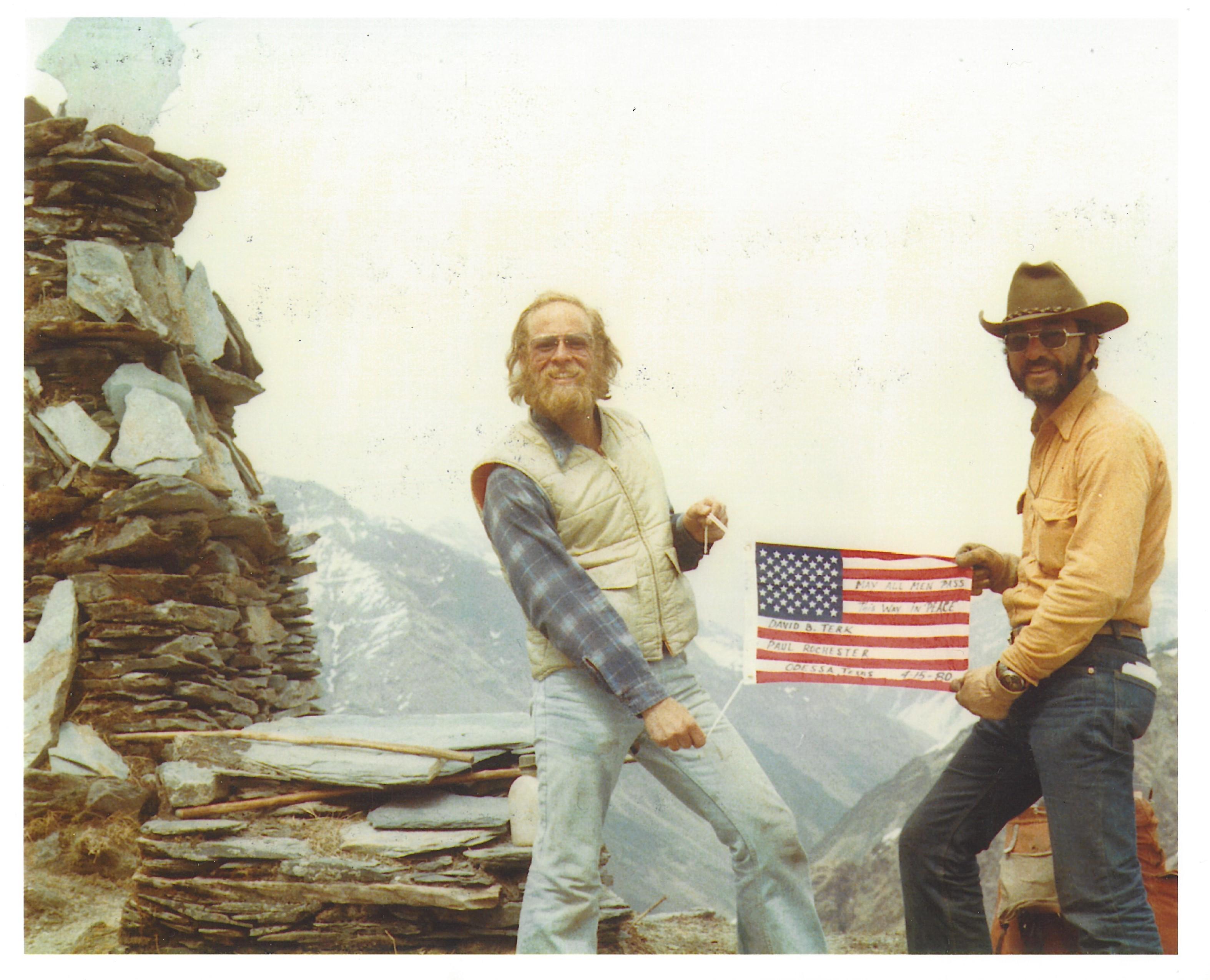 David Terk, Nepal, 1980